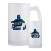 Full Color Decorative Frosted Glass Mug 16oz-West Florida Argonauts
