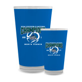 Full Color Glass 17oz-NCAA Division II National Champions 2017 Mens Tennis
