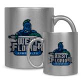 Full Color Silver Metallic Mug 11oz-West Florida Argonauts