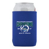 Neoprene Royal Can Holder-NCAA Division II National Champions 2017 Mens Tennis