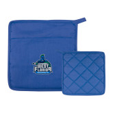Quilted Canvas Royal Pot Holder-West Florida Argonauts