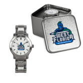 Ladies Stainless Steel Fashion Watch-West Florida Argonauts