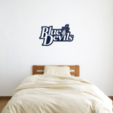 3 ft x 3 ft Fan WallSkinz-Blue Devils Stacked