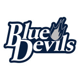 Large Decal-Blue Devils Stacked, 12 inches wide