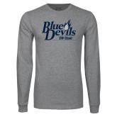 Grey Long Sleeve T Shirt-Primary Mark