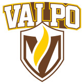 Extra Large Decal-Stacked Valpo Shield, 18 inches tall