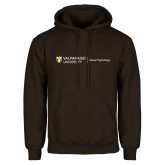 Brown Fleece Hoodie-School of Psychology Horizontal