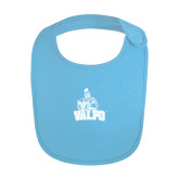 Light Blue Baby Bib-Official Logo