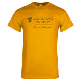 Gold T Shirt-School of Psychology Vertical