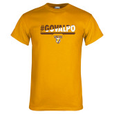 Gold T Shirt-#GOVALPO