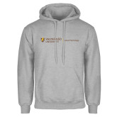 Grey Fleece Hoodie-School of Psychology Horizontal