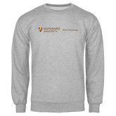 Grey Fleece Crew-School of Psychology Horizontal