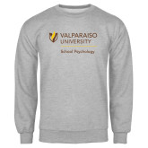 Grey Fleece Crew-School of Psychology Vertical