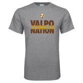 Grey T Shirt-Valpo Nation