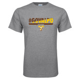 Grey T Shirt-#GOVALPO