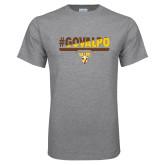 Grey T Shirt-#GOVALPO