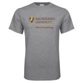 Grey T Shirt-School of Psychology Vertical
