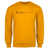 Gold Fleece Crew-School of Psychology Horizontal