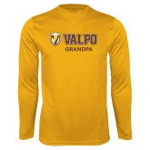 Performance Gold Longsleeve Shirt-Grandpa