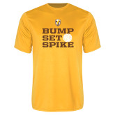 Performance Gold Tee-Bump Set Spike