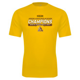 Syntrel Performance Gold Tee-2017 Mens Basketball Champions