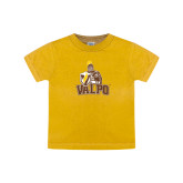 Toddler Gold T Shirt-Official Logo