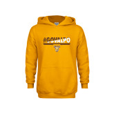 Youth Gold Fleece Hoodie-#GOVALPO
