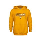 Youth Gold Fleece Hoodie-#GOVALPO