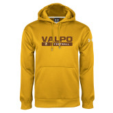 Under Armour Gold Performance Sweats Team Hoodie-Football Design