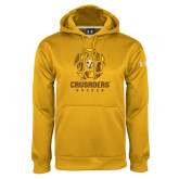 Under Armour Gold Performance Sweats Team Hoodie-Soccer Design