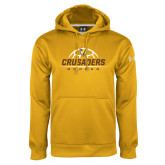 Under Armour Gold Performance Sweats Team Hoodie-Stacked Soccer Design