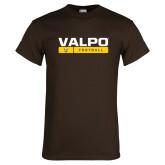 Brown T Shirt-Football Design