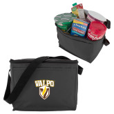 Six Pack Grey Cooler-Stacked Valpo Shield