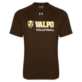Under Armour Brown Tech Tee-Volleyball