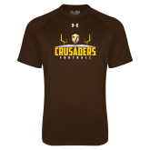 Under Armour Brown Tech Tee-Football Field Design