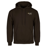 Brown Fleece Hoodie-School of Psychology Vertical