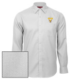 Red House White Diamond Dobby Long Sleeve Shirt-Stacked Valpo Shield