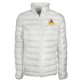 Columbia Mighty LITE Ladies White Jacket-Official Logo