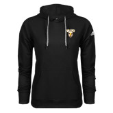 Adidas Climawarm Black Team Issue Hoodie-Stacked Valpo Shield