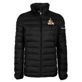 Columbia Mighty LITE Ladies Black Jacket-Official Logo