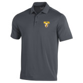 Under Armour Graphite Performance Polo-Stacked Valpo Shield