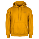 Gold Fleece Hoodie-School of Psychology Vertical