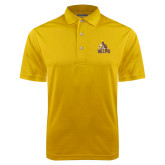 Gold Dry Mesh Polo-Official Logo