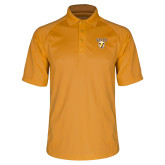Gold Dri Mesh Pro Polo-Stacked Valpo Shield