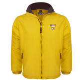 Gold Survivor Jacket-Stacked Valpo Shield
