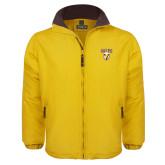 Gold Survivor Jacket-Stacked Valpo Shield