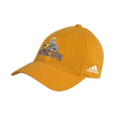 Adidas Gold Slouch Unstructured Low Profile Hat-Official Logo