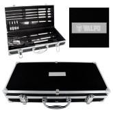 Grill Master Set-Flat Valpo Shield Engraved
