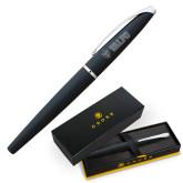 Cross ATX Basalt Black Rollerball Pen-Flat Valpo Shield Engraved