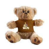 Plush Big Paw 8 1/2 inch Brown Bear w/Brown Shirt-Official Logo